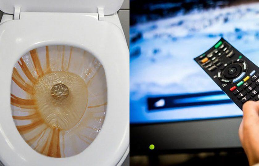 ٹی وی ریموٹ، ٹوائلٹ سے 20 گنا زیادہ گنداقرار