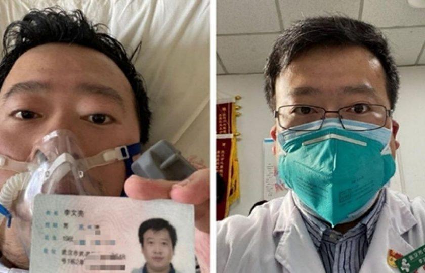 دنیا کو سب سے پہلےکرونا وائرس سے خبردار کرنے والا چینی ڈاکٹر بھی موت کا شکار ہو گیا