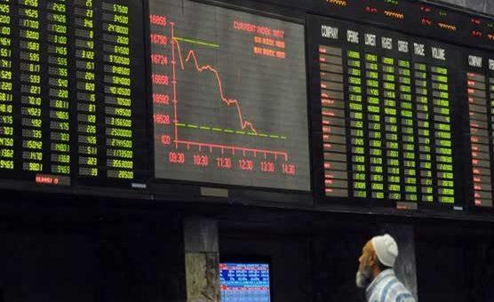 پاکستان سٹاک مارکیٹ میں مندی برقرار، کاروبار روک دیا گیا، ڈالر تین روپے مہنگا