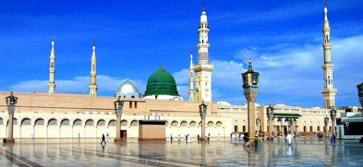 مسجد نبویﷺ میں بچوں کے داخلے پر پابندی عائد