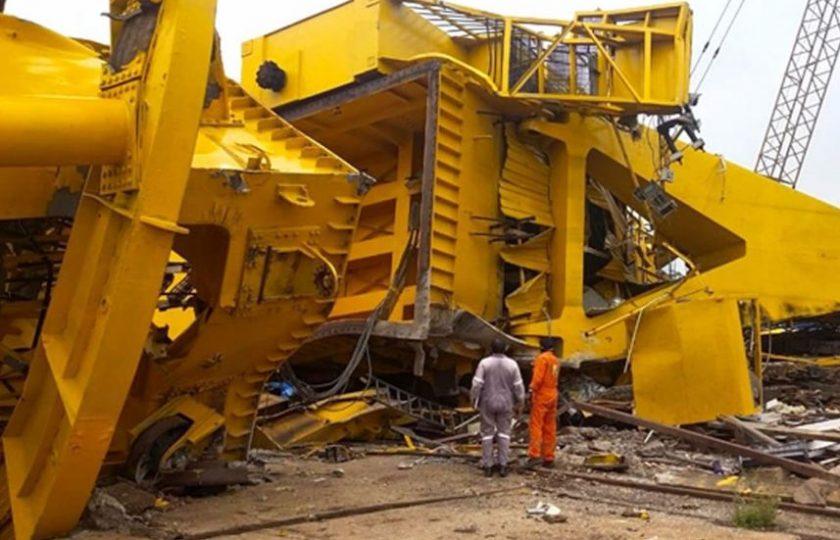 بھارت: 70 ٹن وزنی کرین گرنے سے 11 ملازم ہلاک،ویڈیو منظر عام پر آ گئی